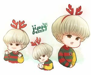 christmas, fanart, and smtown image