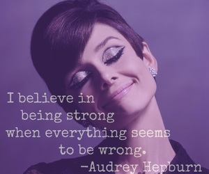 audrey hepburn, easel, and quotes image