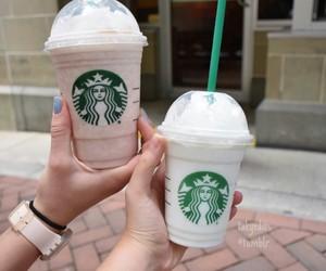 drinks and starbucks image