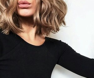 hair, style, and lips image