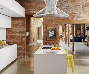 house, design, and kitchen image