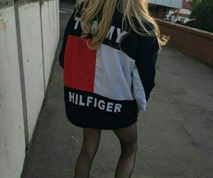 style, tommy hilfiger, and outfit image