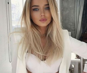 blonde, hairstyles, and cute image