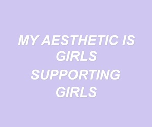 girl power, pastel, and quotes image