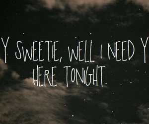 quotes, tonight, and text image
