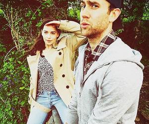 sam claflin, emilia clarke, and me before you image