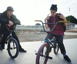 bmx, boys, and steviechurchill image