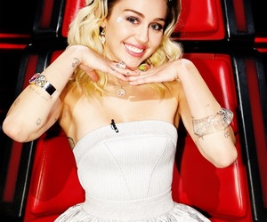 miley cyrus, the voice, and miley image
