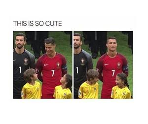 cute, cristiano ronaldo, and portugal image