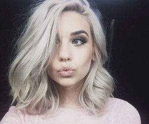 hair, makeup, and amanda steele image