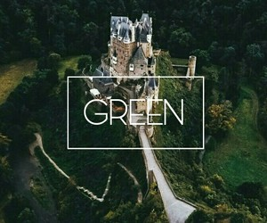 castillo, color, and green image
