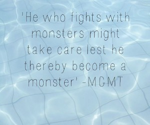 kids, MGMT, and monsters image