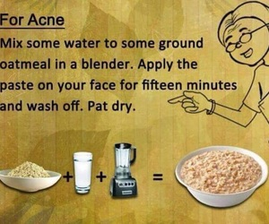 acne, mask, and beauty image