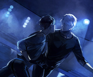 yuri on ice, anime, and live image