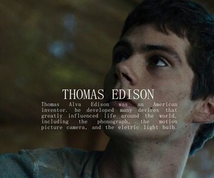 thomas, the maze runner, and book image