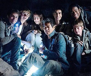 the maze runner, the scorch trials, and thomas image