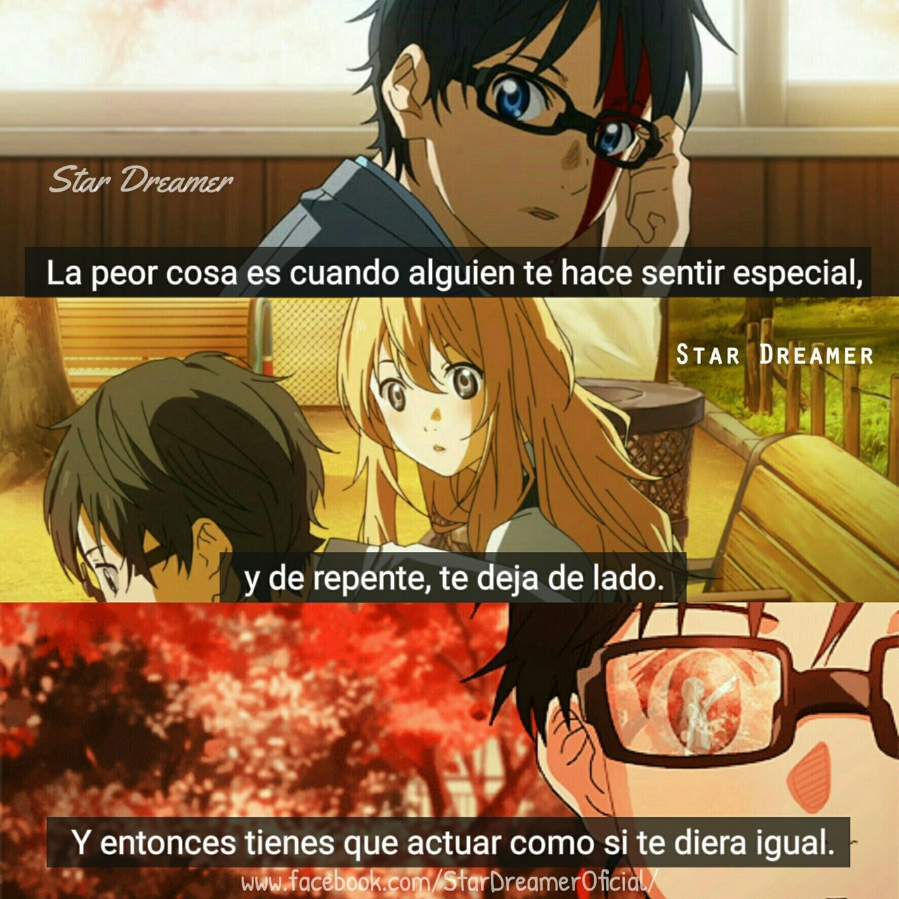 Image About Sad In Frases De Anime By Jj Tapia