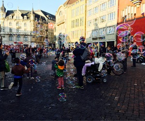 basel, bubbles, and children image