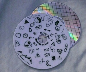 tumblr, grunge, and cd image