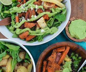 food, healthy, and mango image
