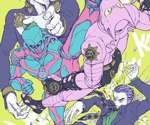 jojo's bizarre adventure and jojos bizarre adventure image