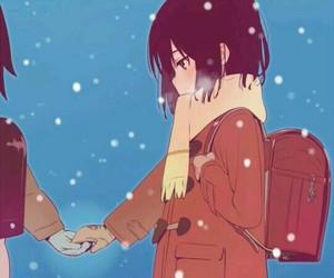 anime, boku ga inai machi, and fanart image