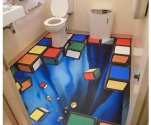 funny and bathroom image