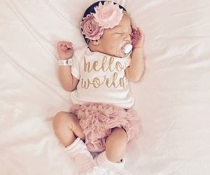 babies, baby girl, and cutie image