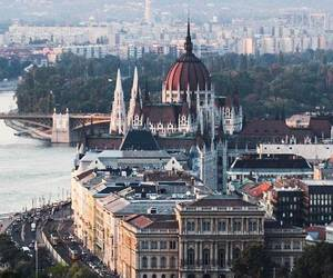 beautiful, budapest, and cities image