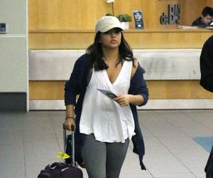 airport, hair, and becky gomez image