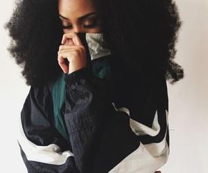 hair, natural hair, and melanin image