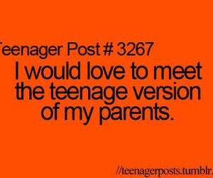 parents, teenager post, and love image