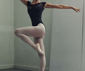 ballerina, beautiful, and dancing image