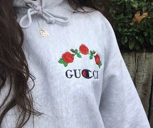 gucci, rose, and style image
