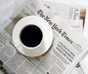 coffee and newspaper image
