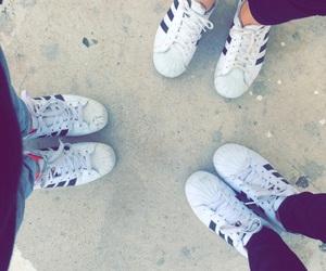 adidas, fun, and besties image