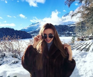 cold, fashion, and girl image