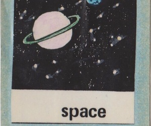 space, planet, and stars image