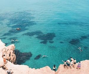 beautiful, nature, and swim image