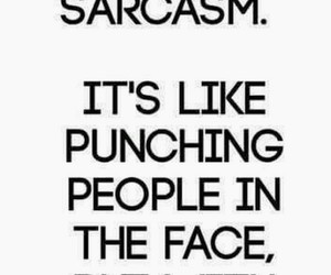 people, sarcasm, and funny quots image
