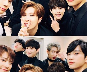 handsome, cute, and got7 image