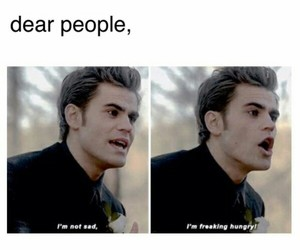 hungry, funny, and tvd image