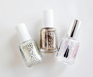 essie, nails, and beauty image