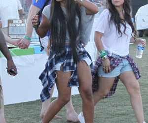 coachella, angela simmons, and fashion image
