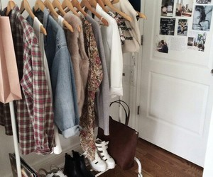 clothes, room, and shoes image