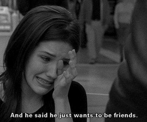 friends, sad, and her image