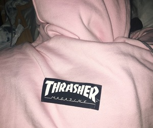 cool, hoddie, and pink image