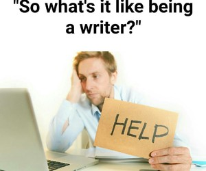 funny and writer image