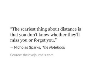 quotes, love, and distance image