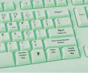 green, keyboard, and mint image